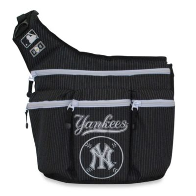 Diaper Dude® MLB™ NY Yankees Messenger Diaper Bag