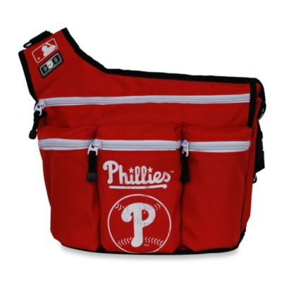 Diaper Dude® MLB™ Philadelphia Phillies Messenger Diaper Bag
