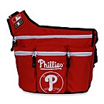 Diaper Dude® MLB™ Messenger Diaper Bag - Phillies