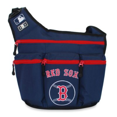 Diaper Dude® Red Sox MLB™ Messenger Diaper Bag