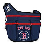 Diaper Dude® MLB™ Red Sox Messenger Diaper Bag
