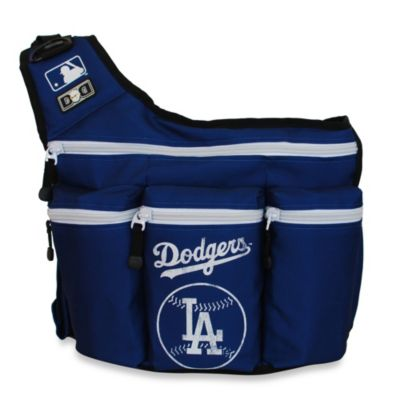 Diaper Dude® MLB™ Messenger Diaper Bag in LA Dodgers