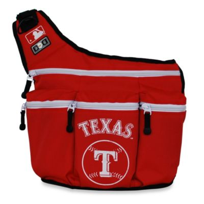 Diaper Dude® Texas Rangers MLB™ Messenger Diaper Bag