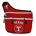 Diaper Dude® MLB™ Messenger Diaper Bag - Texas Rangers