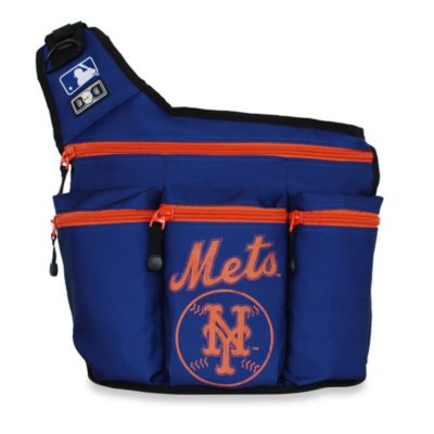 Diaper Dude® MLB™ NY Mets Messenger Diaper Bag
