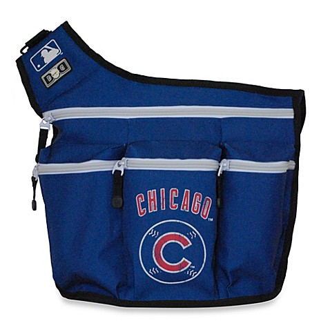 buy diaper dude mlb cubs messenger diaper bag from bed bath beyond. Black Bedroom Furniture Sets. Home Design Ideas