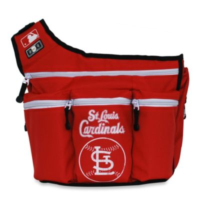 Team Shop > Diaper Dude® MLB™ Saint Louis Cardinals Messenger Diaper Bag