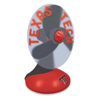 Texas Tech Red Raiders Light Up Desktop Message Fan
