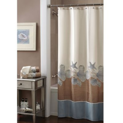 Satin Shower Curtain
