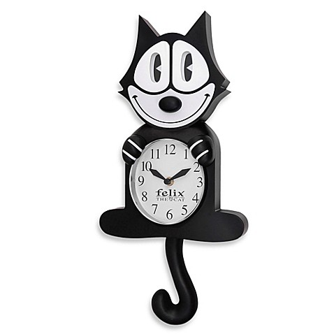Felix The Cat 3-D Motion Wall Clock