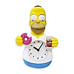 Homer Simpson 3-D Motion Wall Clock