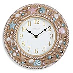Sterling & Noble 10-Inch Beach Wall Clock