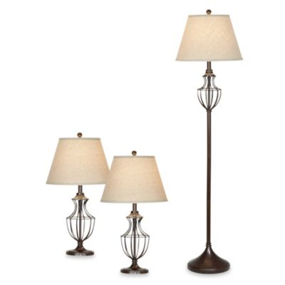 Pacific Coast Lighting® Bellington Collection 3-Lamp Set