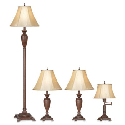 Pacific Coast Lighting® Mercer Collection 4-Lamp Set