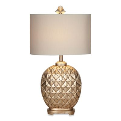 Kathy Ireland Home® Marrakesh Weave Collection Table Lamp