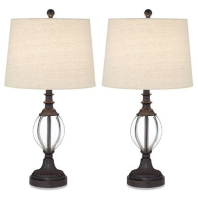 Pacific Coast® Lighting Set of 2 Tigard Table Lamps