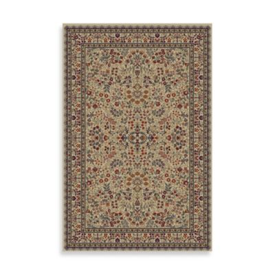 Concord Trading Sarouk 7-Foot 10-Inch x 9-Foot 10-Inch Rug in Ivory