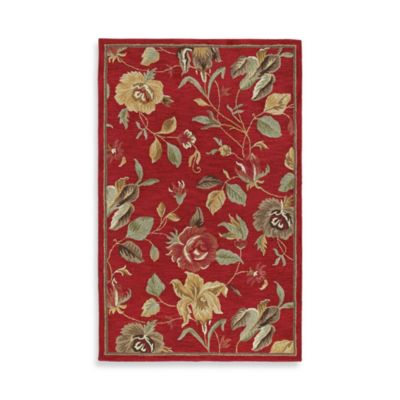 Kaleen Savannah 7-Foot 9-Inch x 9-Foot Rug in Red