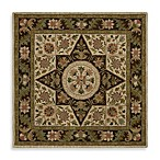 Southern Star Square Rug in Linen
