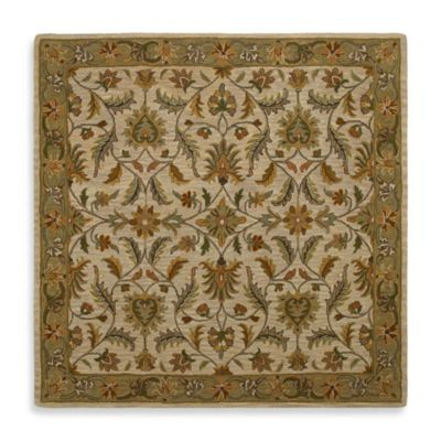 Kaleen St. Vincent 11-Foot 9-Inch Square Rug in Ivory