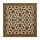St. Vincent Square Rug in Ivory