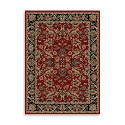 Concord Global Trading Sultanabad 2-Foot 2-Inch x 7-Foot 3-Inch Indoor Rug in Red