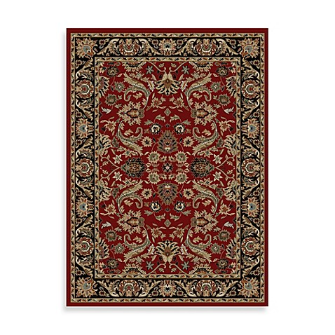 Concord Global Trading Sultanabad 7-Foot 10-Inch Round Rug in Red