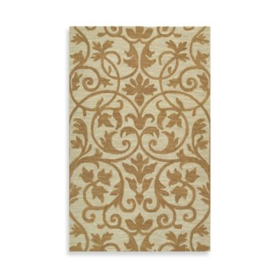 Trellis 3-Foot x 5-Foot Rug in Brown