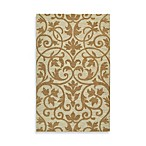 Kaleen Trellis Rug in Brown
