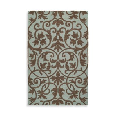 Kaleen Trellis 2-Foot x 3-Foot Rug in Spa