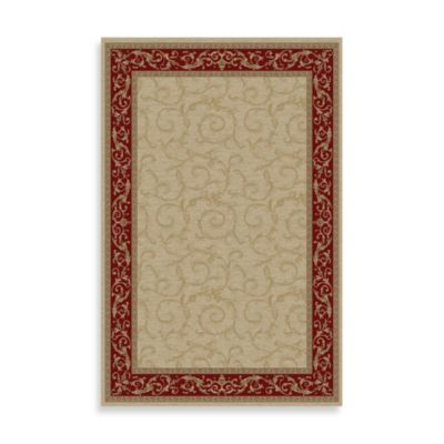 Veronica 5-Foot 3-Inch x 7-Foot 7-Inch Indoor Rug in Ivory