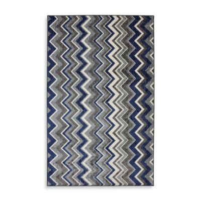Mohawk Home Ziggidy Rug in Royal