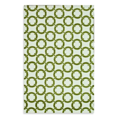 Loloi Charlotte Collection 5-Foot x 7-Foot 6-Inch Indoor Rug in Peridot