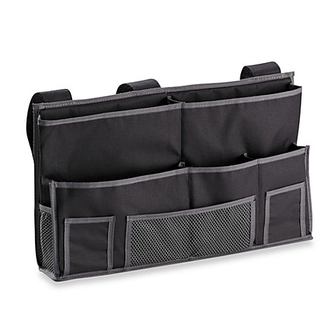 Bedside Storage Caddy in Black