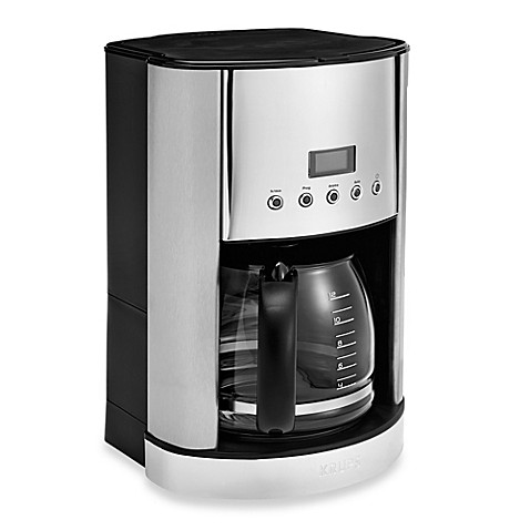 Krups 174 12 Cup Stainless Steel Coffee Maker Bed Bath Amp Beyond