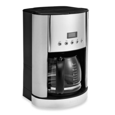 Coffee Makers Sold At Bed Bath And Beyond : Krups 12-Cup Stainless Steel Coffee Maker - Bed Bath & Beyond