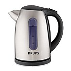 Krups® 6-Cup Stainless Steel Electric Hot Water Kettle