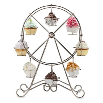 Godinger Ferris Wheel 8-Cupcake Stand