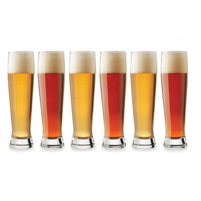 Libbey® Craft Brews 16-Ounce Pilsner Glasses (Set of 6)