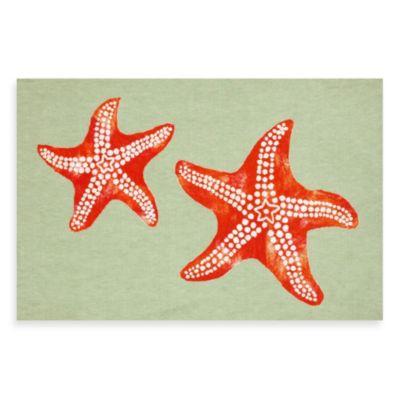 Liora Manne Starfish Door Mat