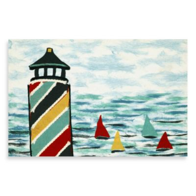 Liora Manne Lighthouse Door Mat