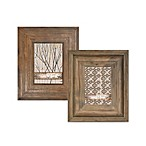 Through The Woods 5-Inch x 7-Inch Frames in Brown