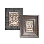 Through The Woods 5-Inch x 7-Inch Dark Wood Frames