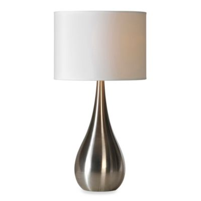 Ren-Wil Alba Stainless Steel Table Lamp