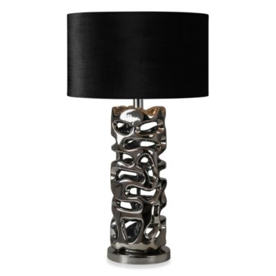 Ren-Wil Flair Chrome Table Lamp