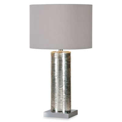 Ren-Wil Amber Silver Plated Table Lamp