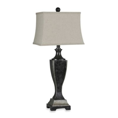 Ren-Wil Samba Antique Black Table Lamp
