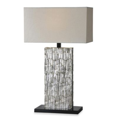 Ren-Wil Santa Fe Silver Leaf Table Lamp