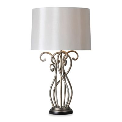 Ren-Wil Vesey Silver Leaf Table Lamp
