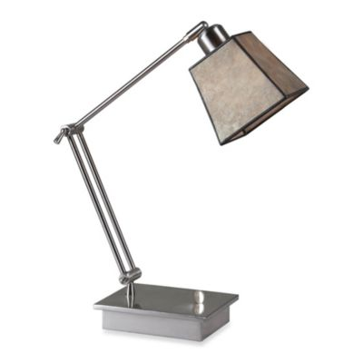 Ren-Wil Bellum Silver Leaf Table Lamp